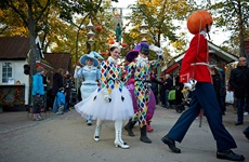 Heksemix og Halloween-parade