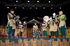 The Tivoli Boys Guard's Pumpkin Band at The Open Air Stage